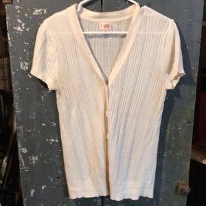 Mossimo Supply Co. lightwt. cream colored sweater